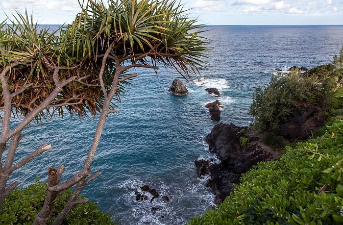 Maui Hana Highway: Pazifik