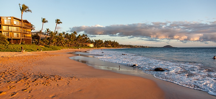 Keawakapu Beach, Pazifik Kihei