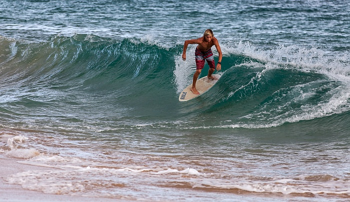 Makena Beach (Big Beach), Pazifik, Surfer Makena State Park