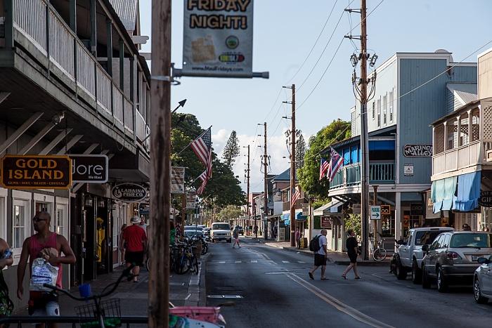 Lahaina Front Street