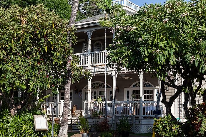 Lahainaluna Road: The Plantation Inn