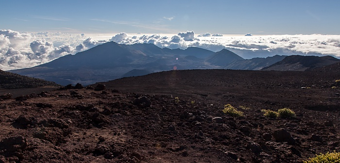 Haleakala National Park Blick vom Red Hill (Pu'u 'Ula'ula): Haleakala Crater (East Maui Volcano)