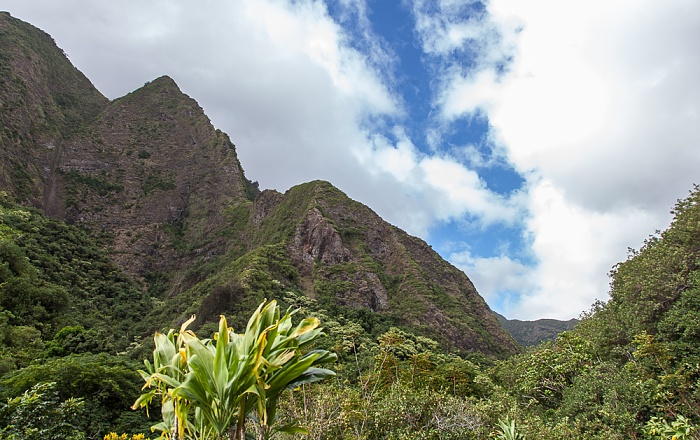 Iao Valley State Park West Maui Mountains
