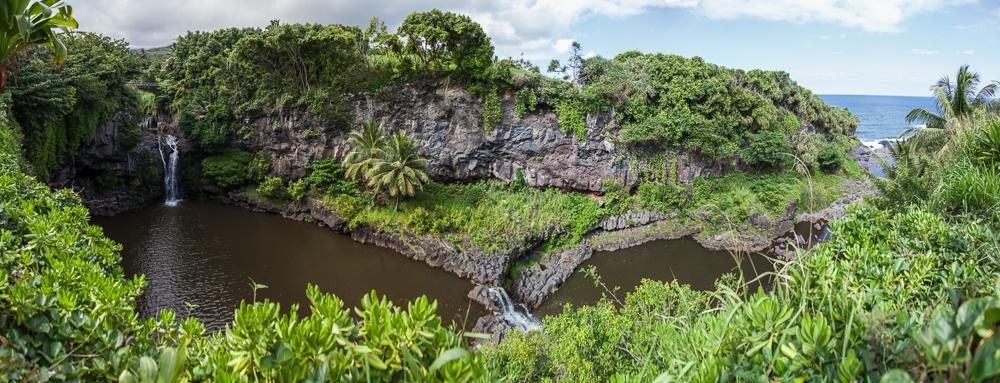 Haleakala National Park Kipahulu District: Seven Sacred Pools at Ohe'o
