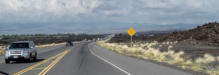 Queen Ka'ahumanu Highway (State Route 11, Hawai'i Belt Road) Big Island