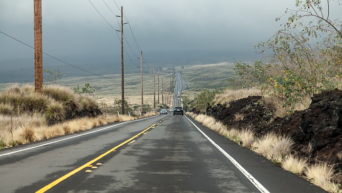 Mamalahoa Highway (State Route 190, Hawai'i Belt Road) Big Island