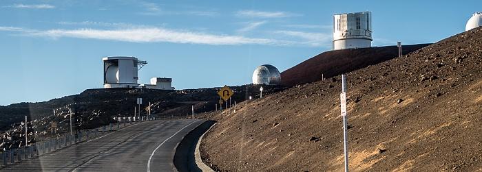Mauna Kea Access Road, Mauna-Kea-Observatorium