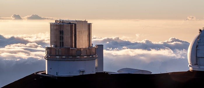 Mauna Kea Mauna-Kea-Observatorium: Subaru-Teleskop