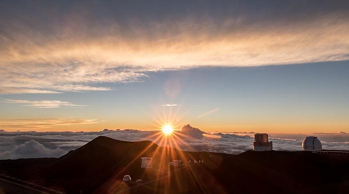 Mauna Kea Mauna-Kea-Observatorium Caltech-Submillimeter-Observatorium James Clerk Maxwell Telescope Keck-Observatorium Subaru-Teleskop