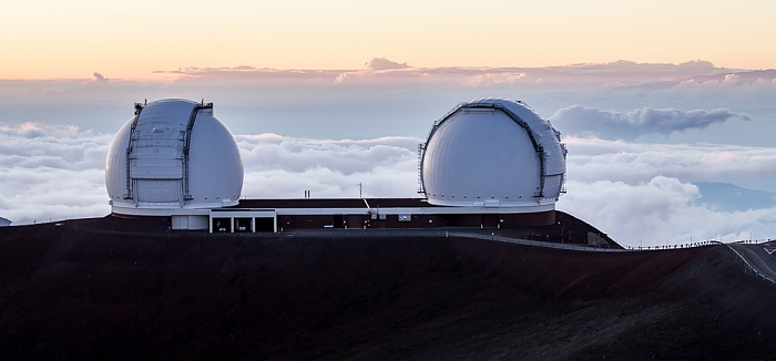 Mauna Kea Mauna-Kea-Observatorium: Keck-Observatorium (I und II)