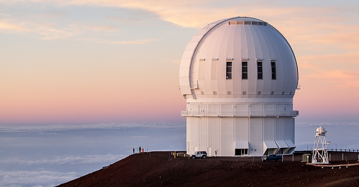 Mauna Kea Mauna-Kea-Observatorium: Canada-France-Hawaii Telescope