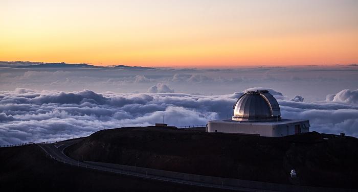 Mauna Kea Mauna-Kea-Observatorium: NASA Infrared Telescope Facility