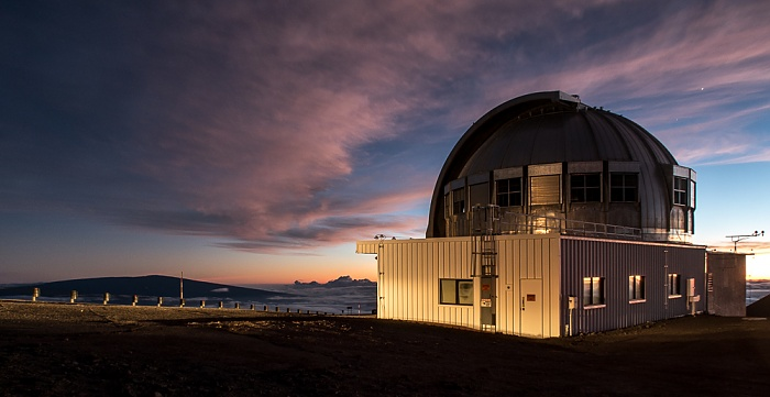 Mauna Kea Mauna-Kea-Observatorium: University of Hawaii 88-inch Telescope