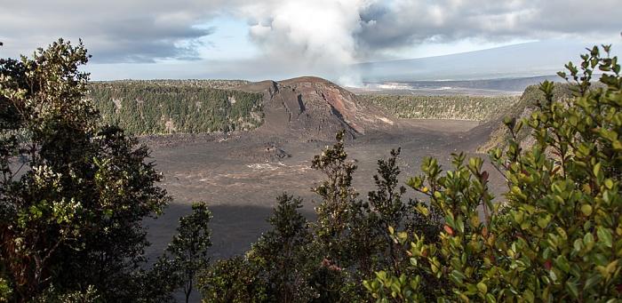 Crater Rim Drive: Kilauea Iki Crater Hawaii Volcanoes National Park