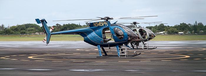 Hilo International Airport: Hubschrauber