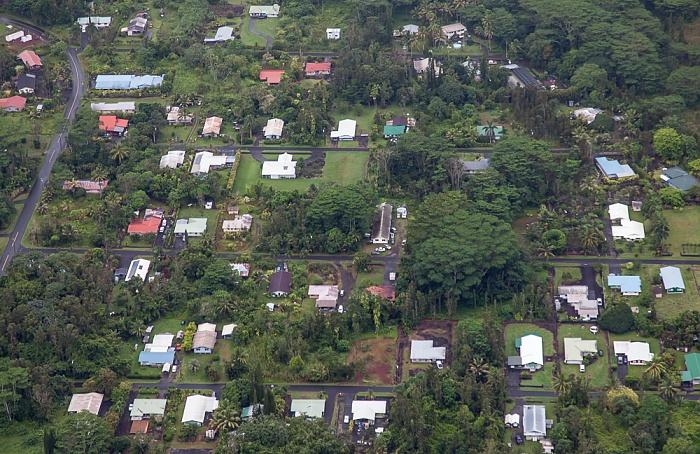 Big Island Blick aus dem Hubschrauber: Hawaiian Beaches Luftbild aerial photo