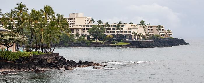 Kahaluu-Keauhou Von vorne: Heeia Bay, Keauhou Bay, Sheraton Kona Resort & Spa at Keauhou Bay, Pazifik