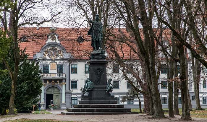 Augsburg Fronhof, Fürstbischöfliche Residenz