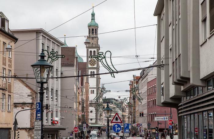 Augsburg Karolinenstraße St. Peter am Perlach
