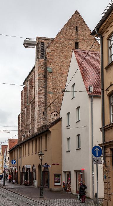 Augsburg Barfüßerstraße: Barfüßerkirche