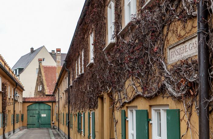 Augsburg Fuggerei: Finstere Gasse