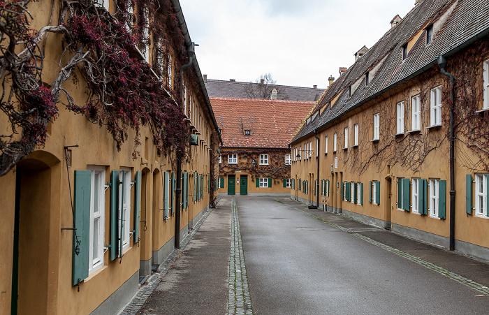 Augsburg Fuggerei: Mittlere Gasse