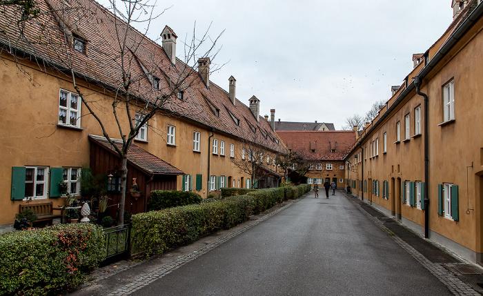 Augsburg Fuggerei: Hintere Gasse