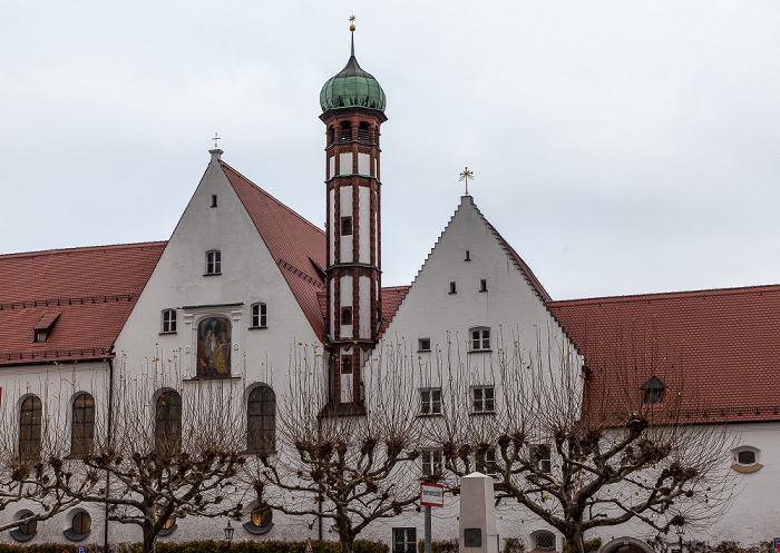 Augsburg Elias-Holl-Platz: Kloster der Franziskanerinnen von Maria Stern