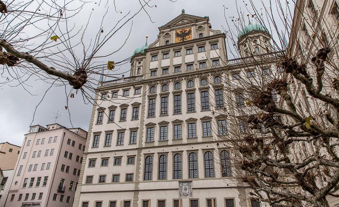 Elias-Holl-Platz: Augsburger Rathaus