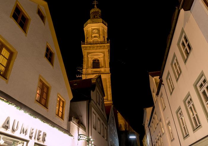 Freising Altstadt: Kirchgasse - Stadtpfarrkirche St. Georg