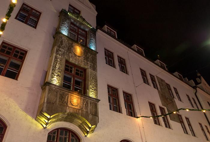 Freising Altstadt: Obere Hauptstraße - Rathaus