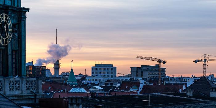München Blick von der Technischen Universität (Arcisstraße) Technische Universität