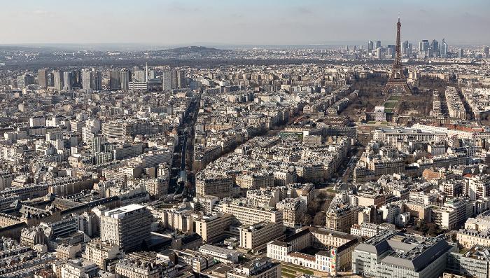 Blick vom Tour Montparnasse Paris