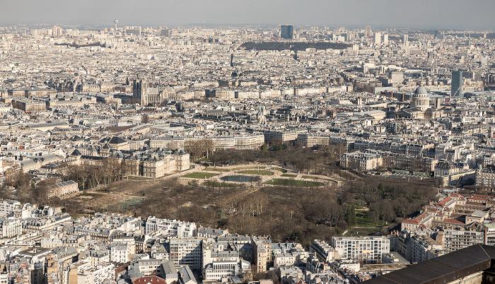 Paris Blick vom Tour Montparnasse