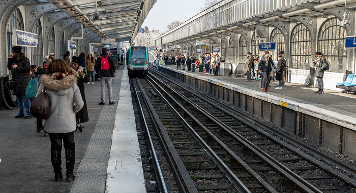 Metrostation La Chapelle Paris