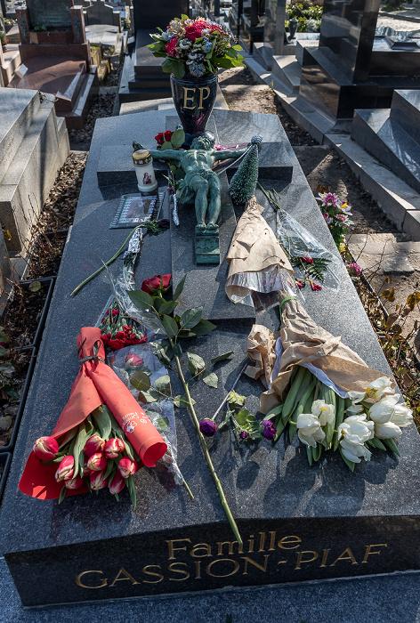 Cimetière du Père-Lachaise: Grab von Édith Piaf (1915-1963) Paris