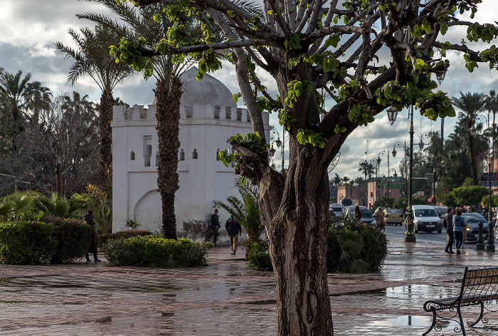 Marrakesch Koubba of Fatima Zohra Avenue Mohammed V