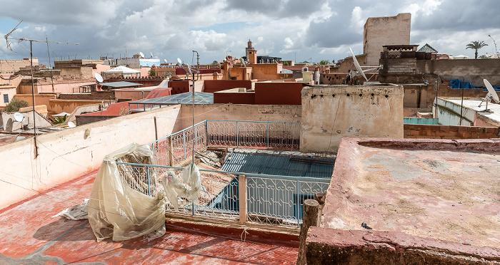 Marrakesch Blick vom Riad Rêves D'orient: Medina