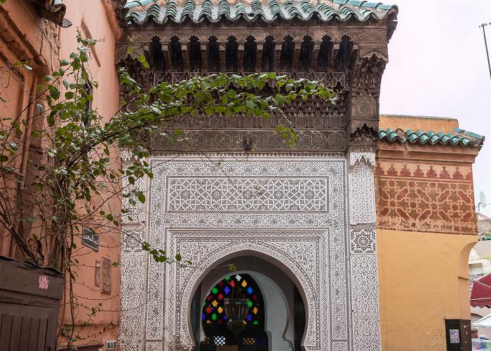 Marrakesch Medina: Rue Sid Abd El Aziz