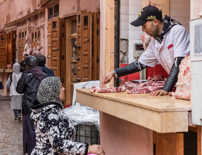 Marrakesch Medina: Rue Sid Abd El Aziz - Souks