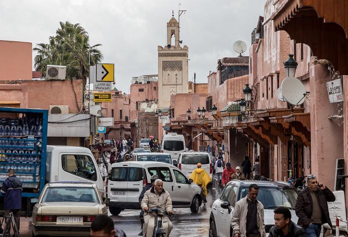 Marrakesch Medina: Rue el Gza