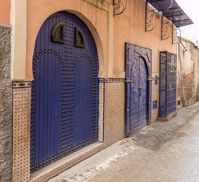 Marrakesch Medina: Rue Assouel