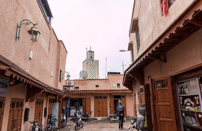 Marrakesch Medina: Rue Tachenbacht