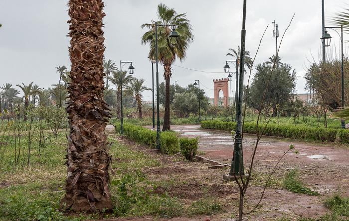 Marrakesch Medina: Gärten des Palais de la Bahia
