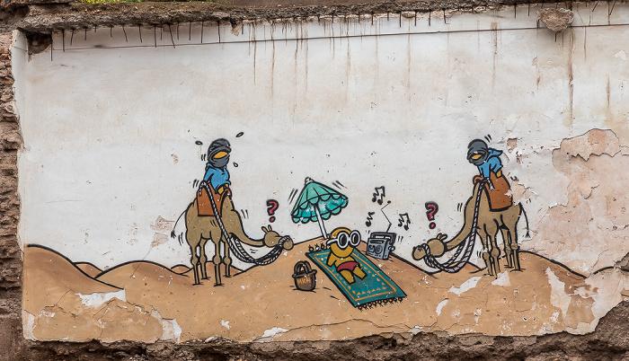 Marrakesch Medina: Djane Ben Chegra
