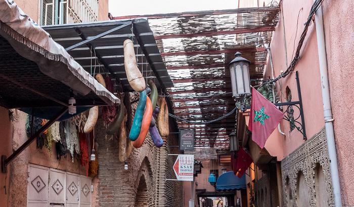 Marrakesch Medina: Rue Sidi el Yamani - Souks