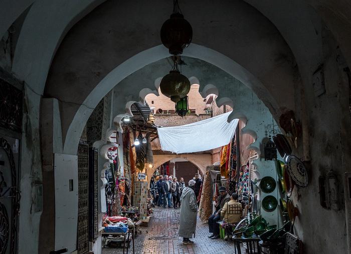 Marrakesch Medina: Rue el Ksour - Souks