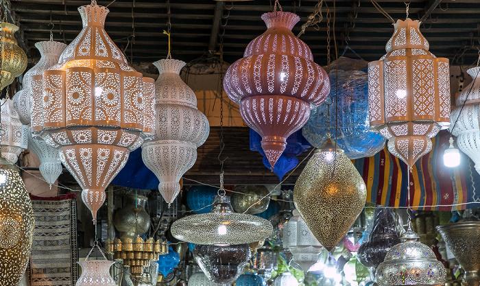 Marrakesch Medina: Rue Fehl Chidmi - Souks