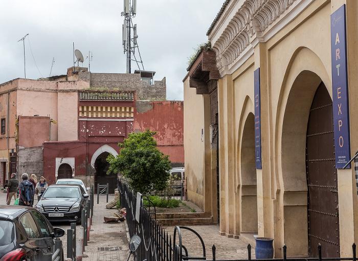 Marrakesch Medina: Route Sidi Abdelaziz