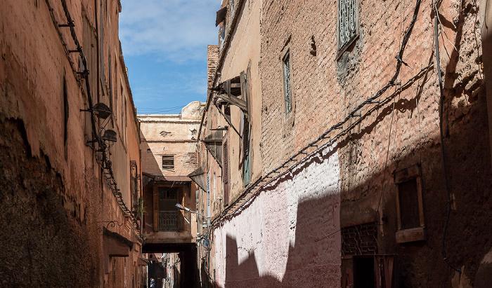 Marrakesch Mellah: Derb Saka
